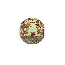 Girdners Tree Embrace Mini Button