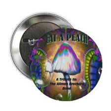"Eat a Peach band logo 2.25"" Button"