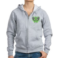 Muscular Dystrophy Awareness Wings Zip Hoodie