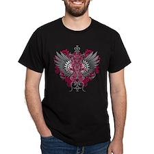 Hereditary HemochromatosiAwareness Wings T-Shirt