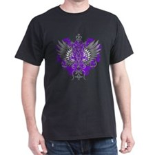 Fibromyalgia Awareness Cool Wings T-Shirt