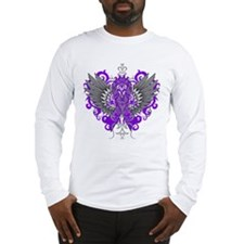Alzheimers Disease Cool Wings Long Sleeve T-Shirt