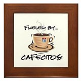 Fueled by Cafecitos Framed Tile