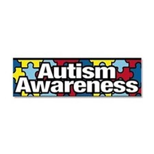 Cute Autism support Car Magnet 10 x 3