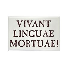 Long Live Dead Languages - Latin Magnets