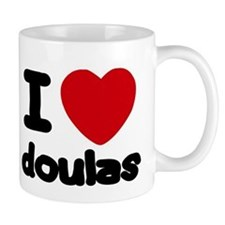 I heart Doulas Mugs