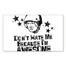 Don't Hate Me Because I'm Awesome Decal