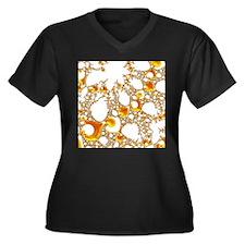 special fractal 04 orange SF Plus Size T-Shirt
