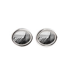 Grey Seaside  Cufflinks