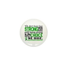 Gastroparesis How Strong We Mini Button (10 pack)
