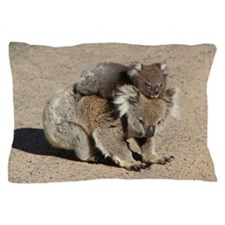 Baby Joey Koala Piggyback Ride Pillow Case