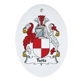 Tuite Oval Ornament