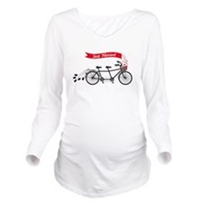 Just married, wedding tandem bicycle Long Sleeve M