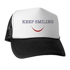 keep smiling Trucker Hat