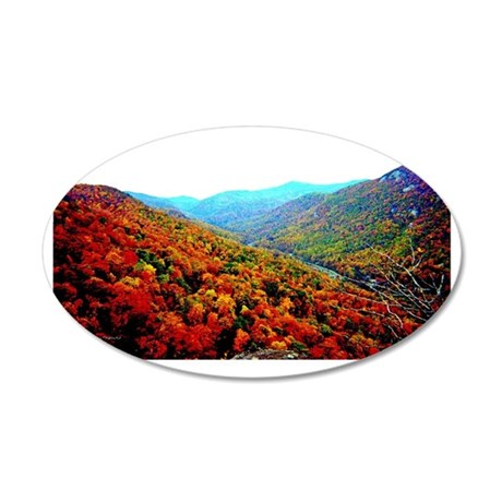 Through The Mountains Wall Decal