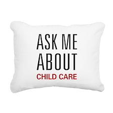 askchild.png Rectangular Canvas Pillow
