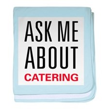Ask Me Catering baby blanket