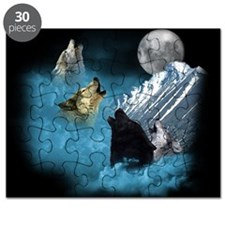 Leader Of The Pack Wolves Puzzle