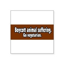 BoycottAnimalSuffering Sticker