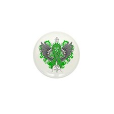 Spinal Cord Injury Wings Mini Button (10 pack)