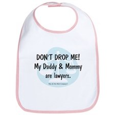 Daddy & Mommy Lawyers Bib