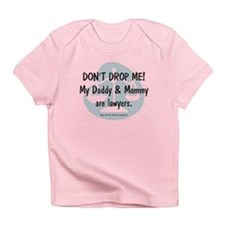 Daddy & Mommy Lawyers Infant T-Shirt
