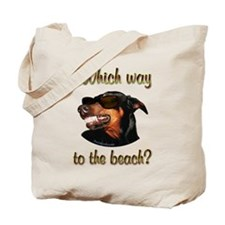 Beach Dobe Tote Bag
