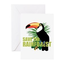 Save The Rainforest Greeting Cards (Pk of 10)