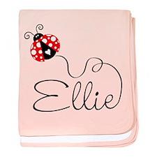 Ladybug Ellie Baby Blanket
