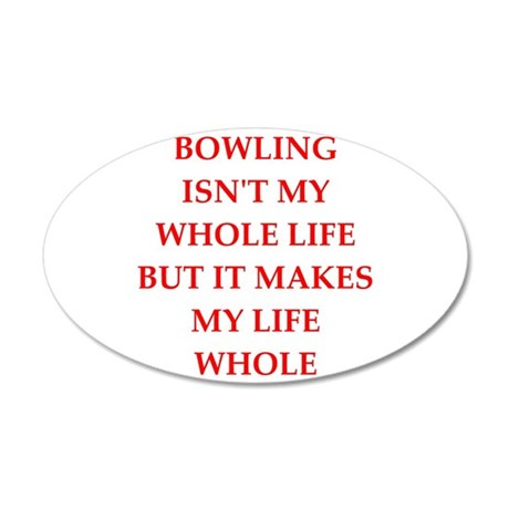 bowling Wall Decal