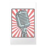 Shure 55S Vintage Microphone Decal