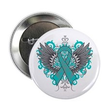 "PCOS Wings 2.25"" Button"