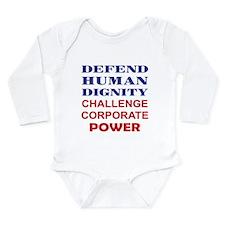 Defend Human Dignity Onesie Romper Suit