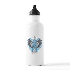 Lymphedema Wings Sports Water Bottle