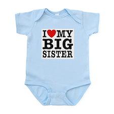 I Love My Big Sister Onesie