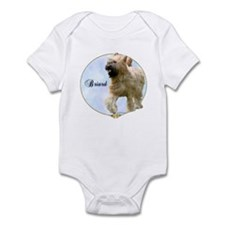 Briard Portrait Infant Bodysuit