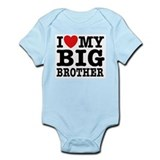 I Love My Big Brother  Baby Onesie