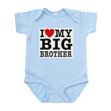 I Love My Big Brother Infant Bodysuit