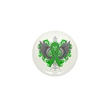 Gastroparesis Wings Mini Button (100 pack)