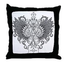 Emphysema Wings Throw Pillow