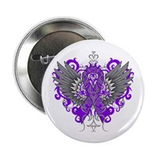 "Alzheimer's Disease Wings 2.25"" Button (10 pack)"