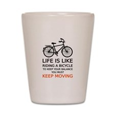 life is like riding a bicycle, word art, text Shot