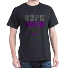 HOPE FAITH CURE Lupus T-Shirt
