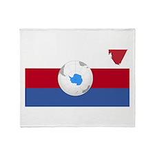République de Virtuanie Throw Blanket