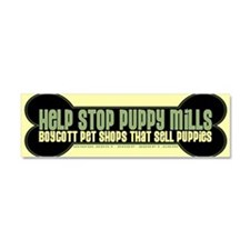 Adopt a pet adoption animal rescue Car Magnet 10 x 3