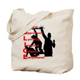 Funny The prisoner Tote Bag