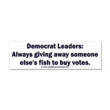 Democrat Leaders Steal Car Magnet 10 x 3