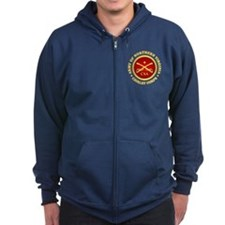 Army of Northern Virginia Cavalry Corps Zipped Hoodie