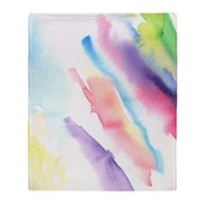 Watercolor Throw Blanket
