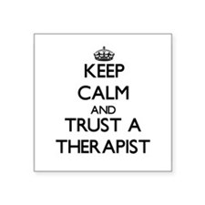Keep Calm and Trust a arapist Sticker